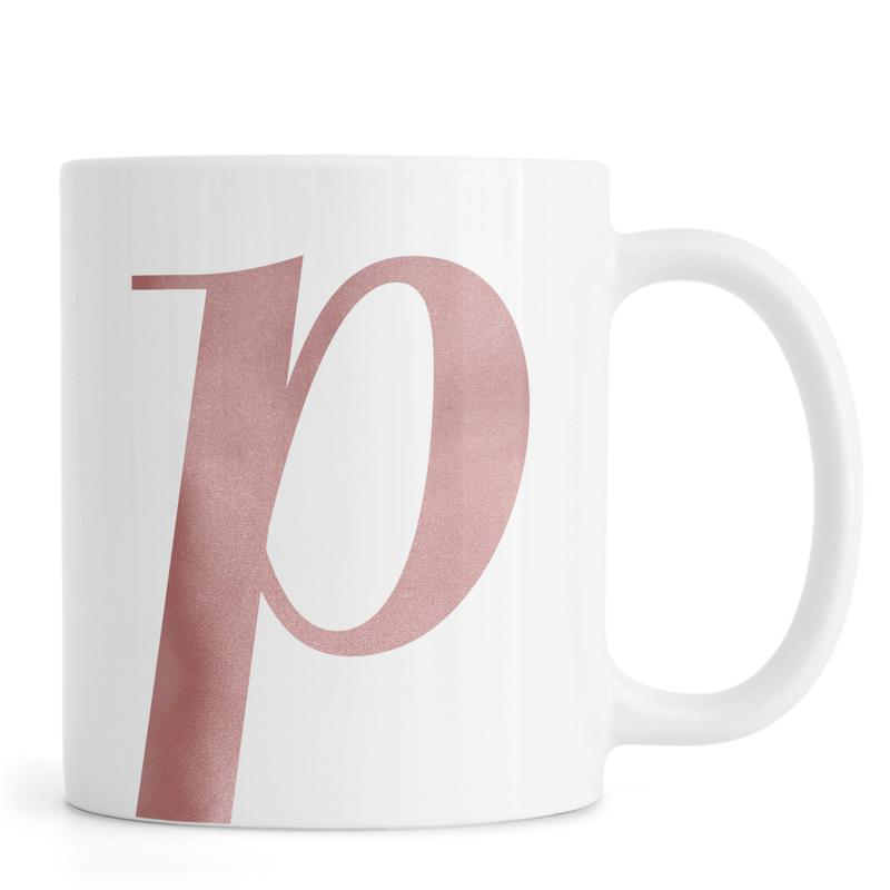 Pink P -Tasse