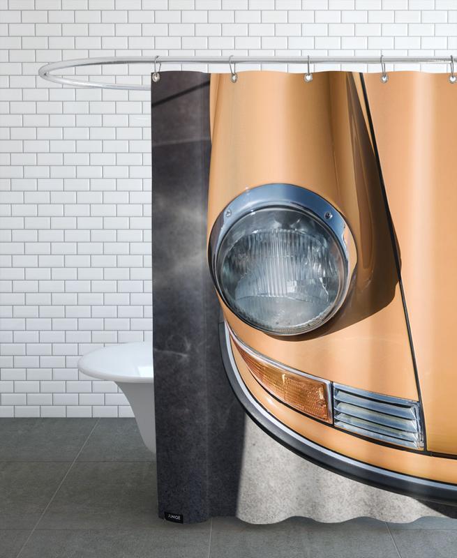 Porsche 911 -Duschvorhang