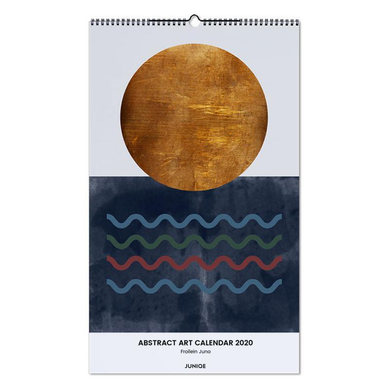 Abstract Art Calendar 2020 - Froilein Juno -Wandkalender