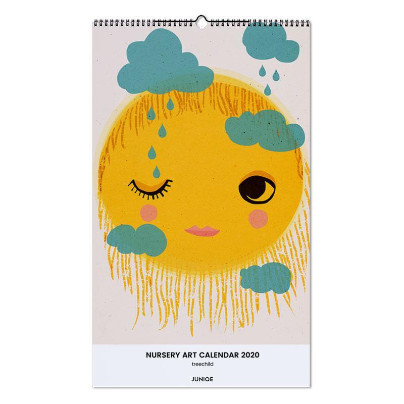 Nursery Art Calendar 2020 - treechild -Wandkalender