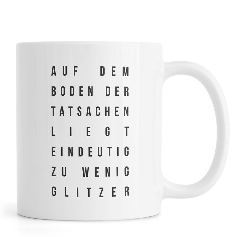Sabrina's Glitzer mug