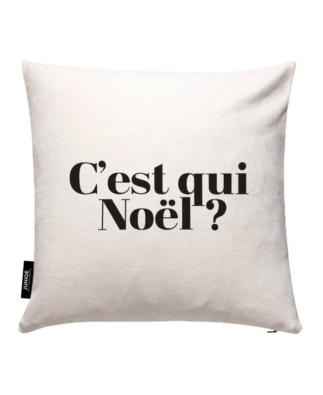 Noel? Cushion Cover