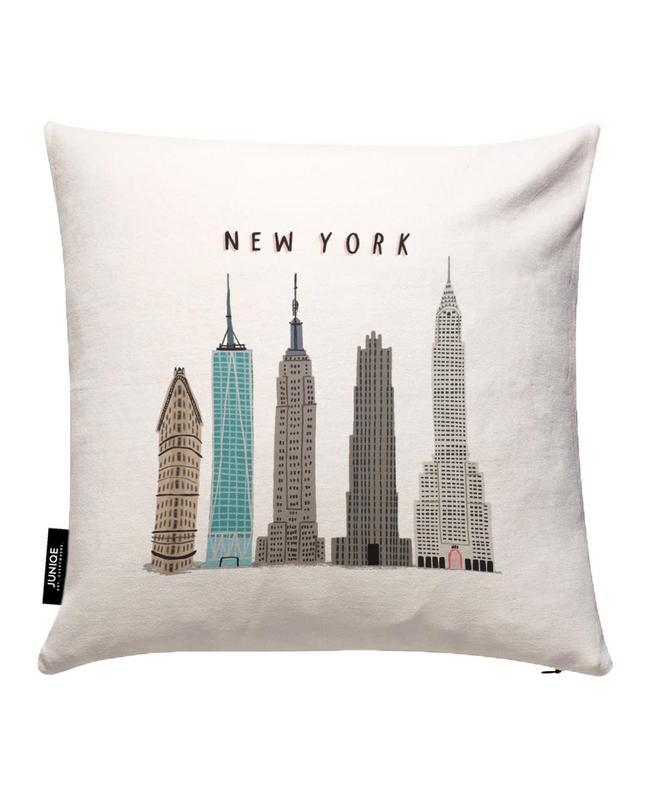 New York Buildings Housse de coussin