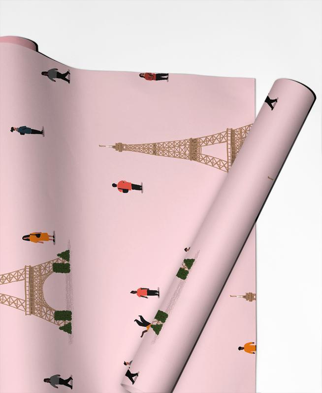 Paris Pattern papier cadeau