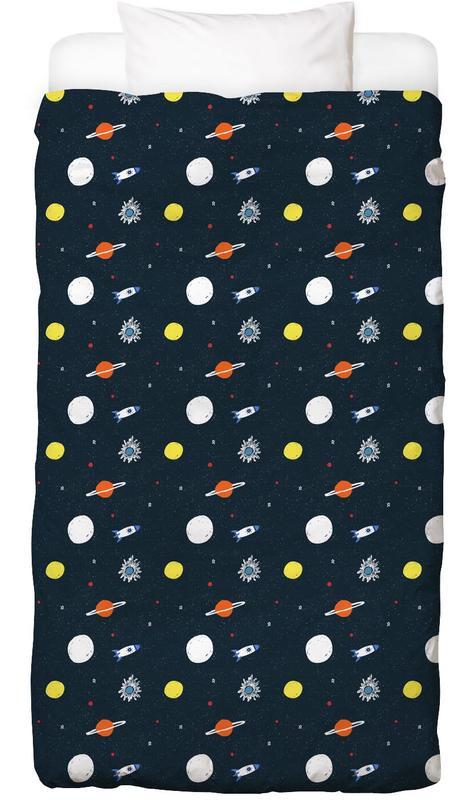 Planets Pattern Bettwäsche
