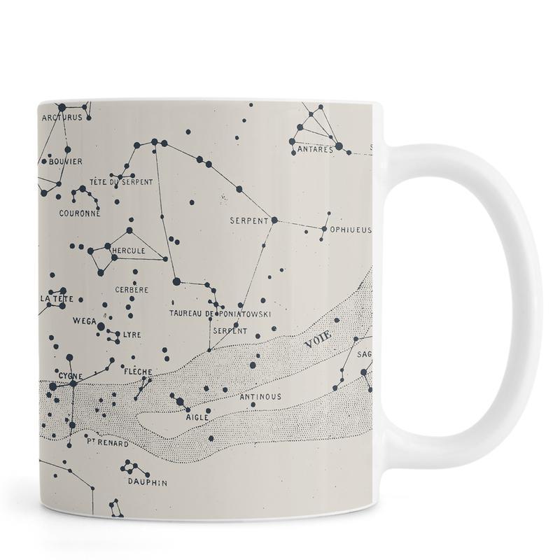 Carte du Ciel II mug