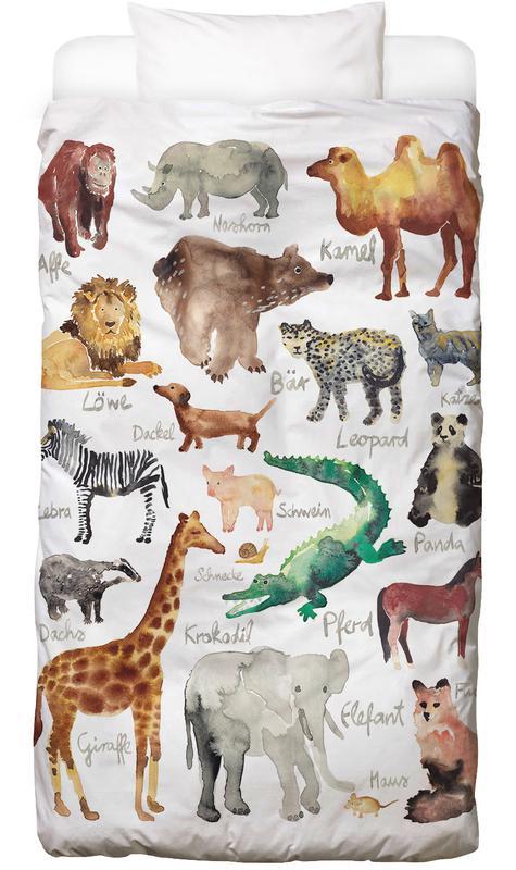 The Animal Kingdom housse de couette enfant