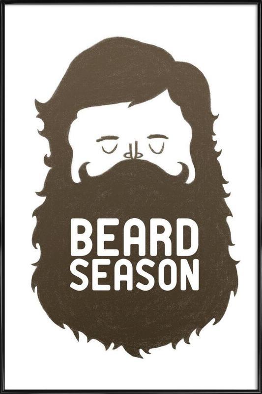Beard Season ingelijste poster