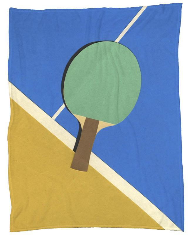 Table Tennis Team Green -Fleecedecke