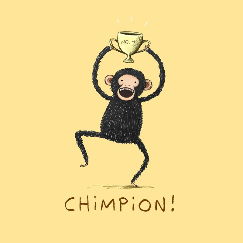 Chimpion -Alubild