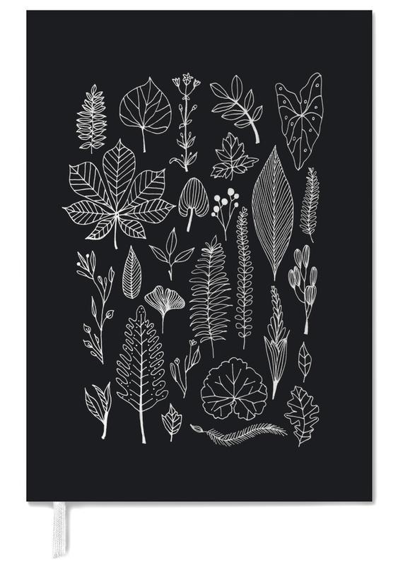 Herbarium Line Drawing Black -Terminplaner
