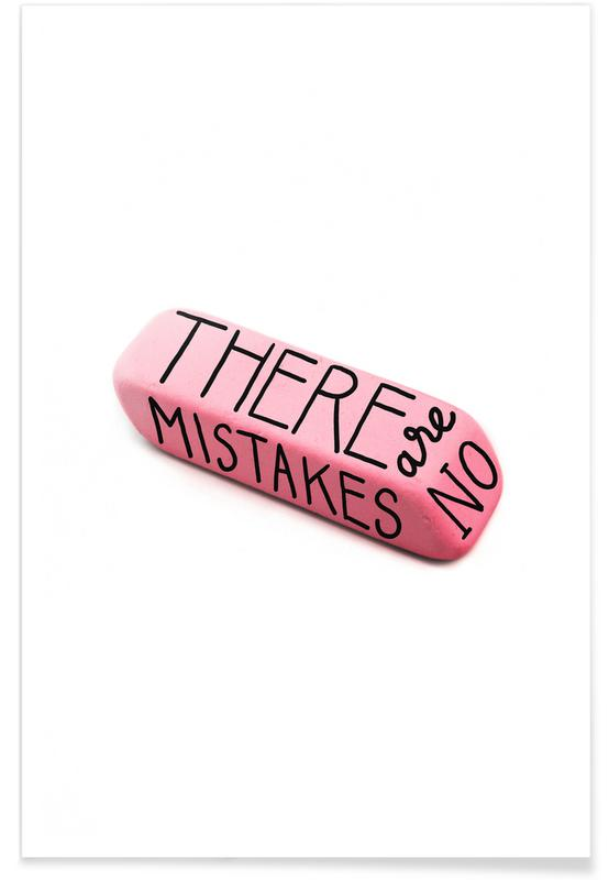 There Are No Mistakes Poster