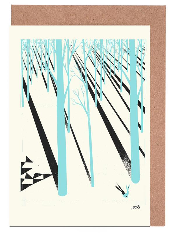 Forest 1b Greeting Card Set