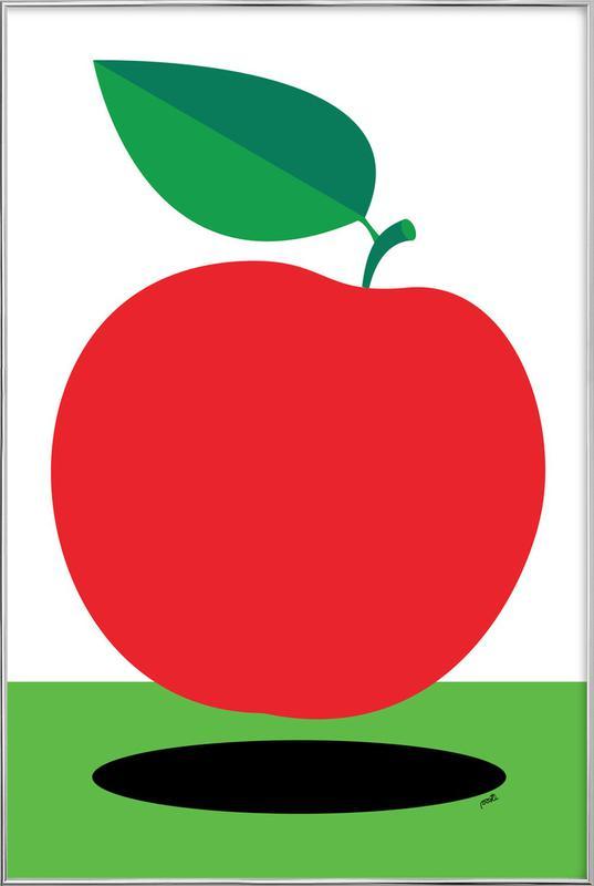 Apple 1 -Poster im Alurahmen