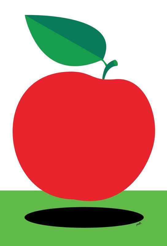 Apple 1 -Acrylglasbild