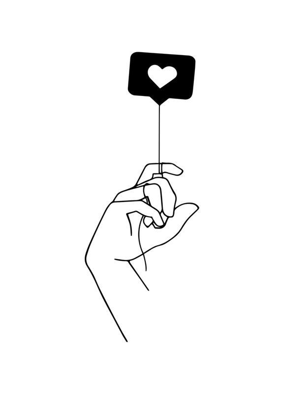 Love Is In The Air -Leinwandbild