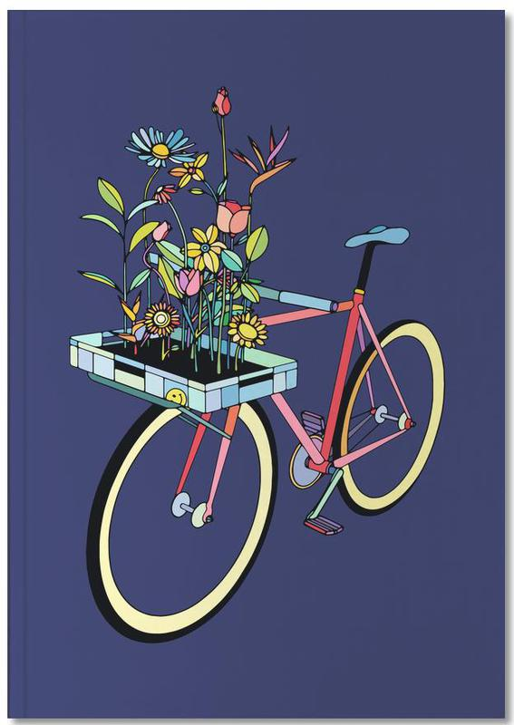 Bike and Flowers Notebook