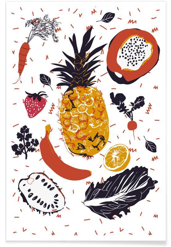 Fruit Veggie Party affiche