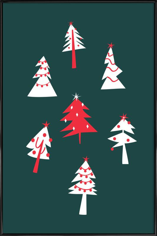 Holiday Pines Framed Poster