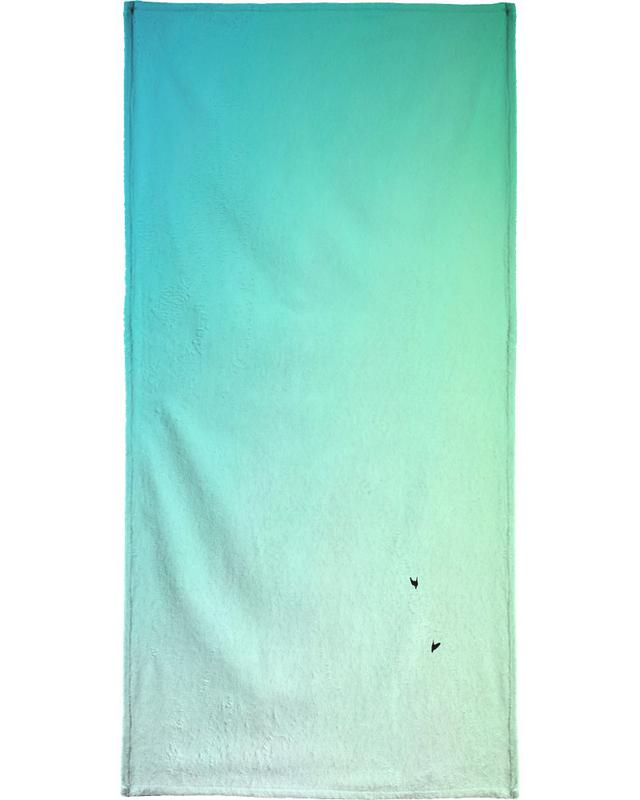 Up and Down Bath Towel