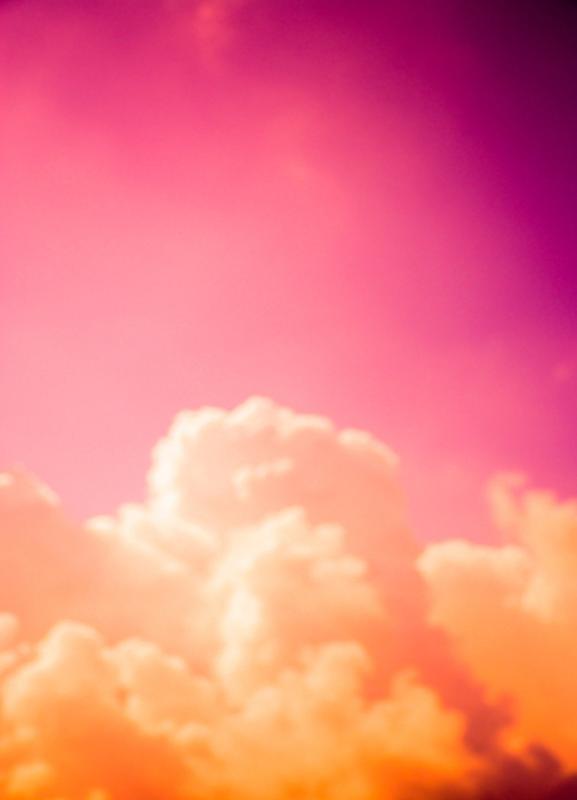 Clouds III canvas doek
