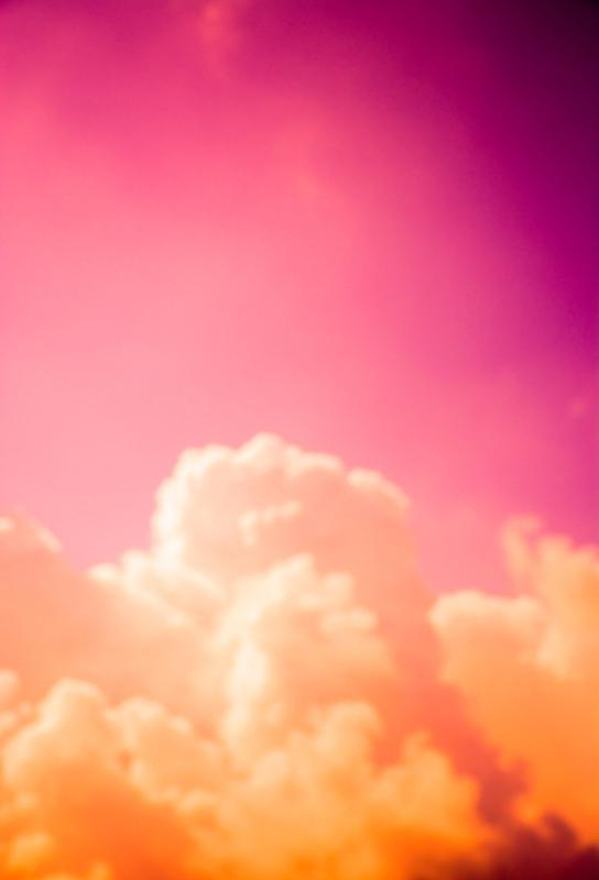 Clouds III acrylglas print