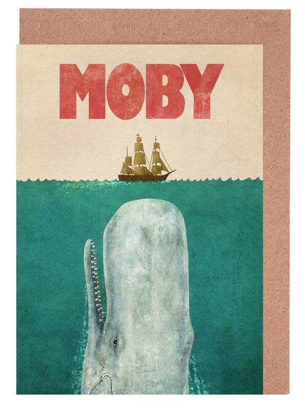 Moby Greeting Card Set