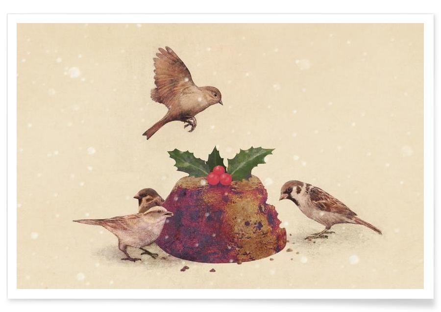 Christmas Pudding Raid -Poster