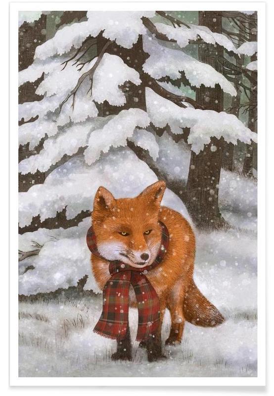 Winter Fox -Poster