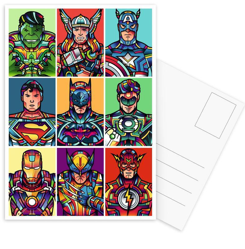 Super Pop cartes postales