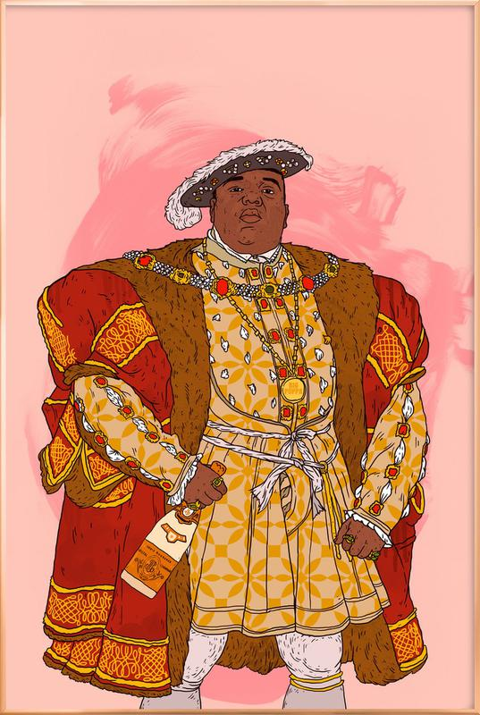 Rap Royalty 001 -Poster im Alurahmen