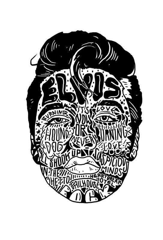 Elvis -Alubild