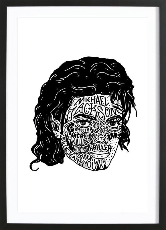 Mikey -Bild mit Holzrahmen