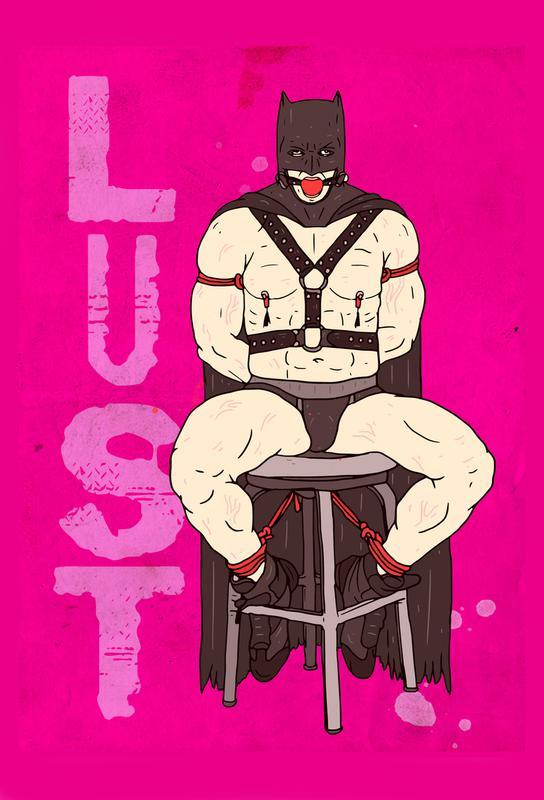 Lust -Acrylglasbild