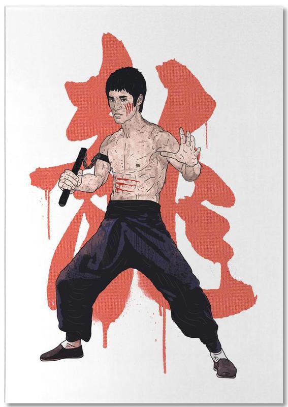 Bruce Lee -Notizblock