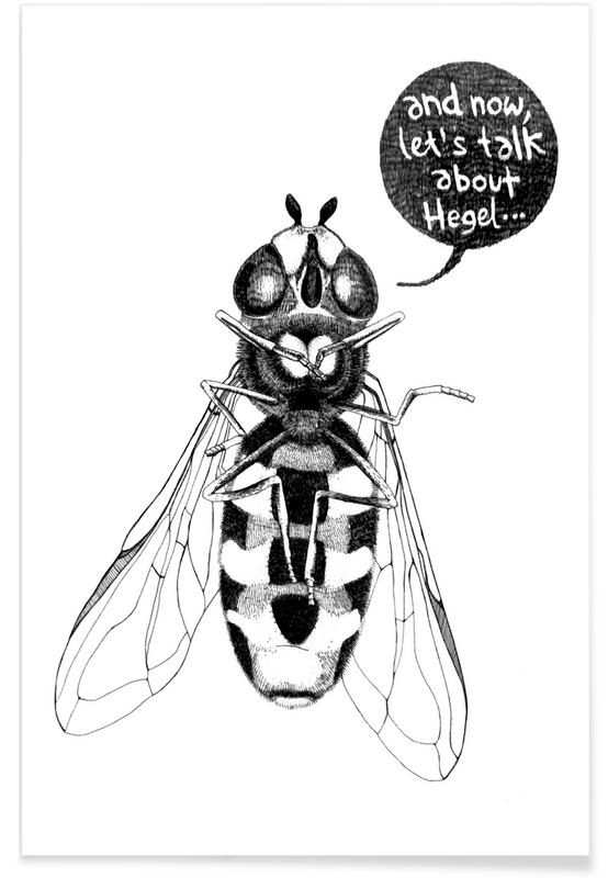 Annoying Bee Poster