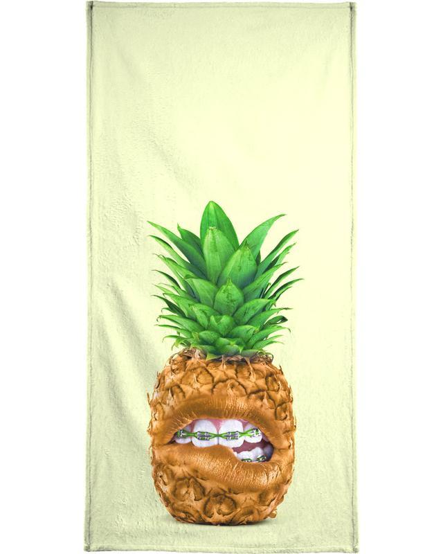 Teen Pineapple Bath Towel