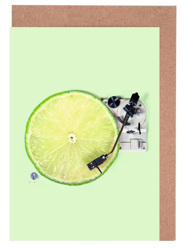 Lemon DJ Greeting Card Set