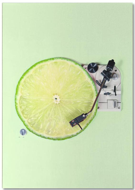 Lemon DJ -Notizblock