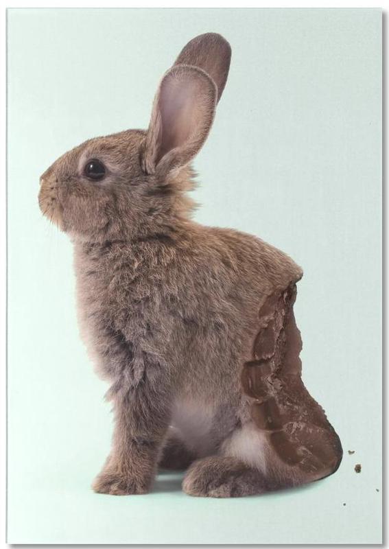Chocolate Rabbit Notepad