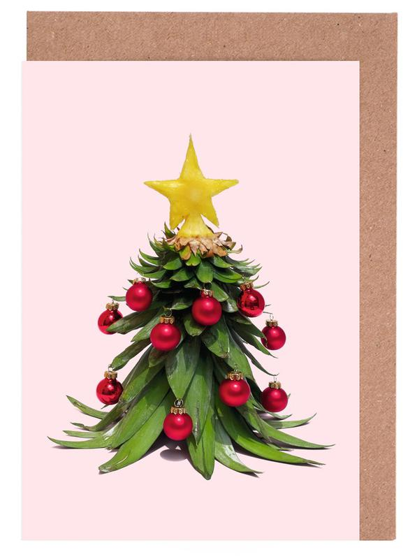 Christmas Pineapple cartes de vœux