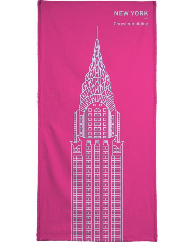 New York Pink -Handtuch