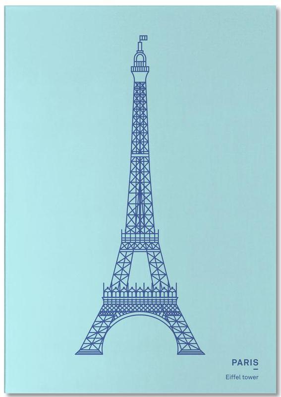 Paris -Notizblock