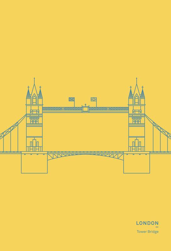 London -Alubild