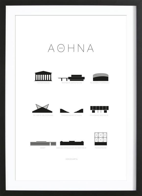 Athene Framed Print