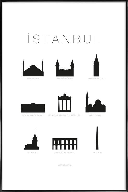 Istanbul Framed Poster