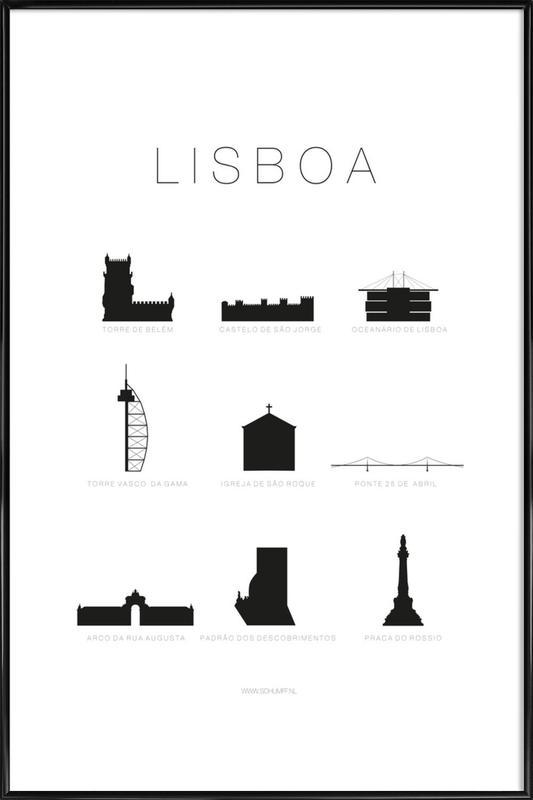 Lisboa Framed Poster