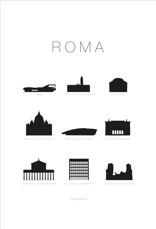 Roma Aluminium Print