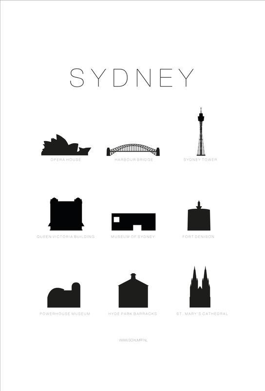 Sydney Acrylic Print
