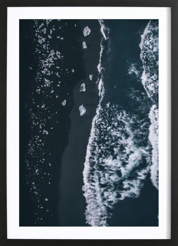 Diamond Beach 1 Framed Print